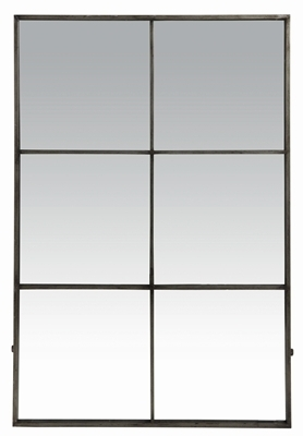 PANED MIRROR WITH METAL