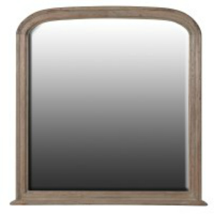 COLONIAL STYLE OVERMANTLE MIRROR
