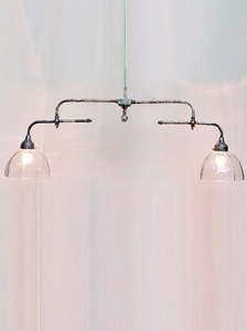 DOUBLE LAMP CEILING LIGHT