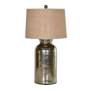 MIRRORED GLASS LAMP