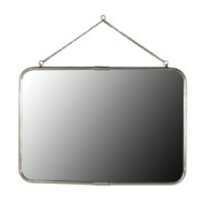 ANTIQUE STYLE SILVER MIRROR