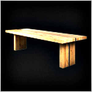 STRIP DINING TABLE