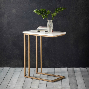 MARBLE SUPPER TABLE