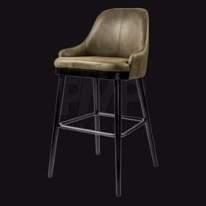 PARIS HIGHSTOOL WITH METAL LEGS