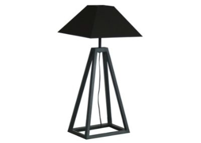 LAMP WITH METAL BASE